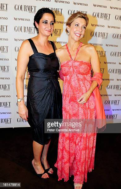 Gourmet Traveller editor Anthea Loucas and Catriona Rowntree arrive for the third annual Gourmet Traveller Travel Awards at the Sydney Opera House on...