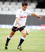 Gouws Prinsloo during the Vodacom Cup match between Sharks XV and Western Provice at Mr Price Kings Park on March 17 2012 in Durban South Africa