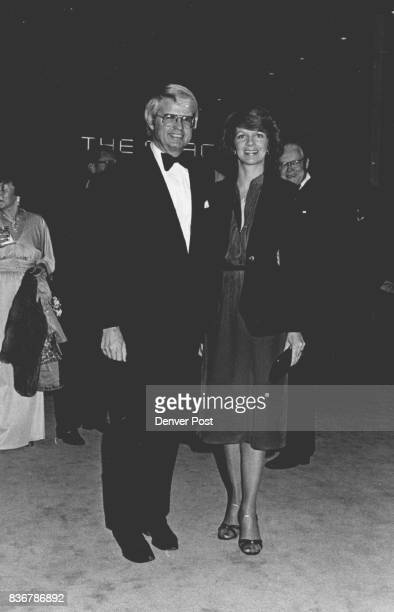 Gov and Mrs Dick Lamm are frequent playgoers at the Helen Bonfils Theatre Complex at the Denver Center for the performing arts The Denver center...