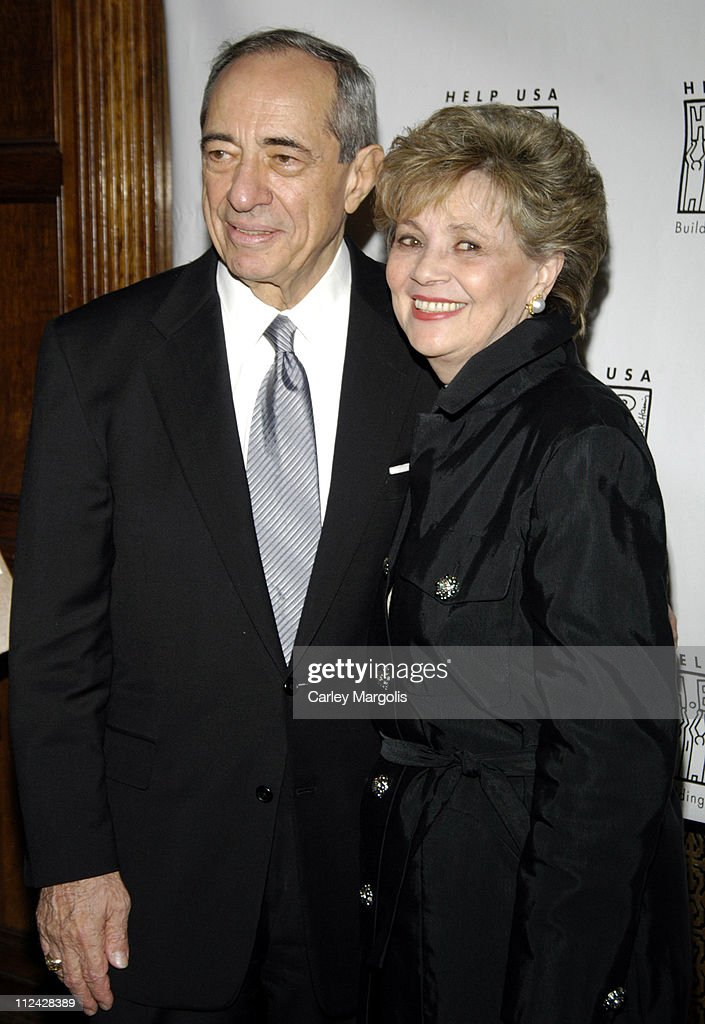 Gov Mario Cuomo and Matilda Cuomo during Help USA Celebrates 20 Years at the 'Help USA Tribute Awards Dinner' Honoring Martin Scorsese and Jon Bon...
