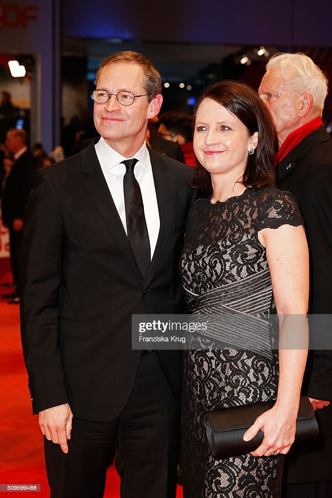 Governing Mayor of Berlin Michael Mueller and wife Claudia attend the 'Hail, Caesar!' premiere during the 66th Berlinale International Film Festival Berlin at Berlinale Palace on February 11, 2016 in Berlin, Germany.