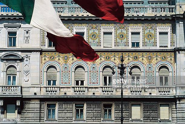 Government buildings Trieste FriuliVenezia Giulia Italy