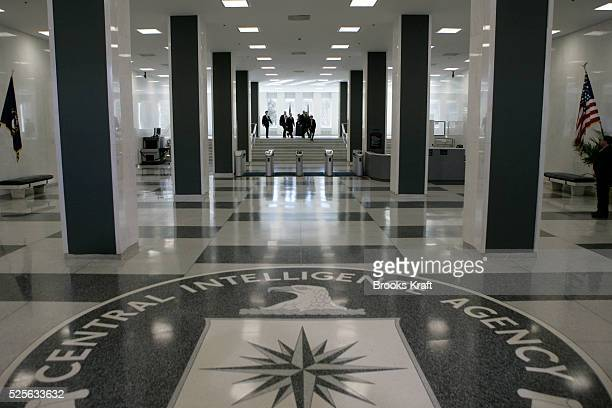 Government employees inside the CIA headquarters in McLean Virginia File photo from 3/3/2005