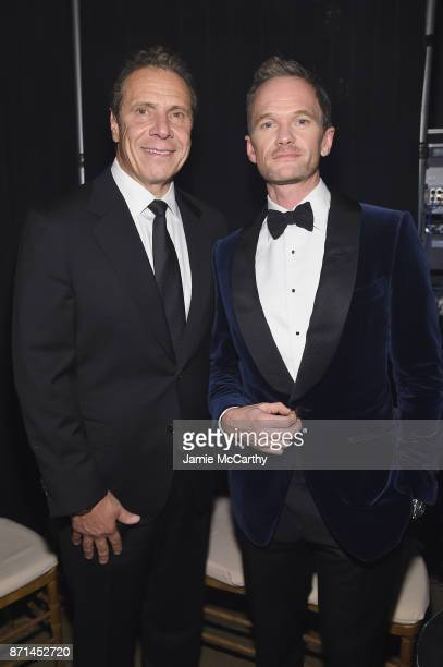 Governor Andrew Cuomo and Neil Patrick Harris attends the Elton John AIDS Foundation Commemorates Its 25th Year And Honors Founder Sir Elton John...