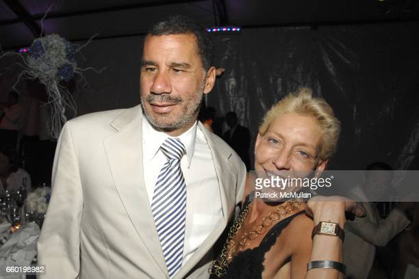 Governor David Paterson and Lisa De Kooning attend PARRISH ART MUSEUM Midsummer Party Honoring DOROTHY LICHTENSTEIN at Parrish Art Museum on July 11...
