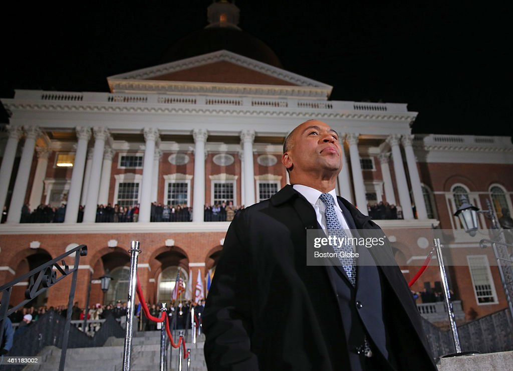 Governor Deval Patrick's 'Lone Walk' marking the end of his administration The event started with his exchanging symbolic gifts in the governor's...