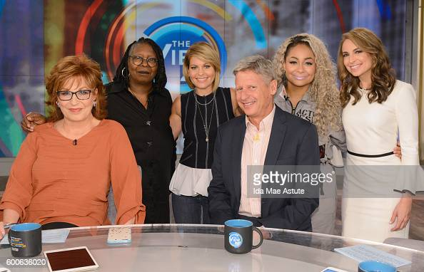 THE VIEW Governor Gary Johnson visits 'THE VIEW' 9/8/16 airing on the ABC Television Network BILA