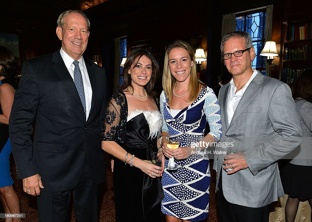 Governor <a gi-track='captionPersonalityLinkClicked' href=/galleries/search?phrase=George+Pataki&family=editorial&specificpeople=202813 ng-click='$event.stopPropagation()'>George Pataki</a>, author Katie Nicholl, Allison Pataki Levy, and David Steinberger, President of Perseus Book Group attend the 'Kate: The Future Queen launch party on September 18, 2013 in New York City.