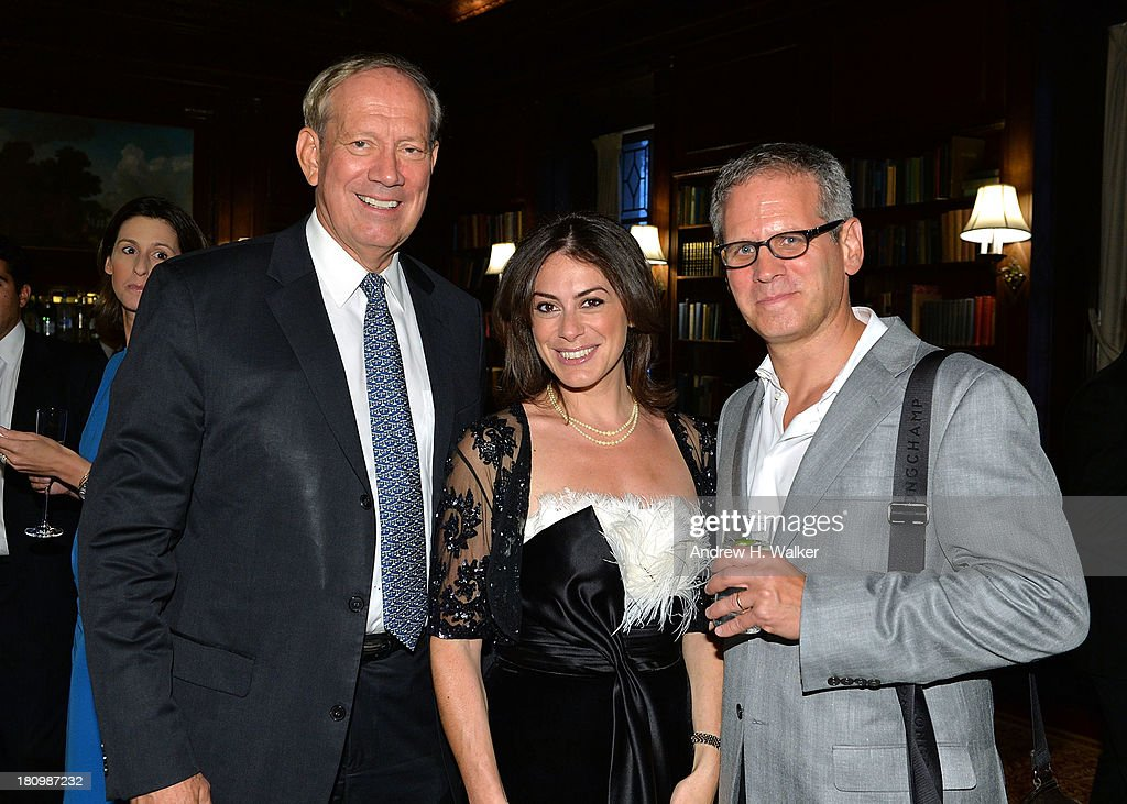Governor <a gi-track='captionPersonalityLinkClicked' href=/galleries/search?phrase=George+Pataki&family=editorial&specificpeople=202813 ng-click='$event.stopPropagation()'>George Pataki</a>, author Katie Nicholl and David Steinberger, President of Perseus Book Group attend the 'Kate: The Future Queen launch party on September 18, 2013 in New York City.
