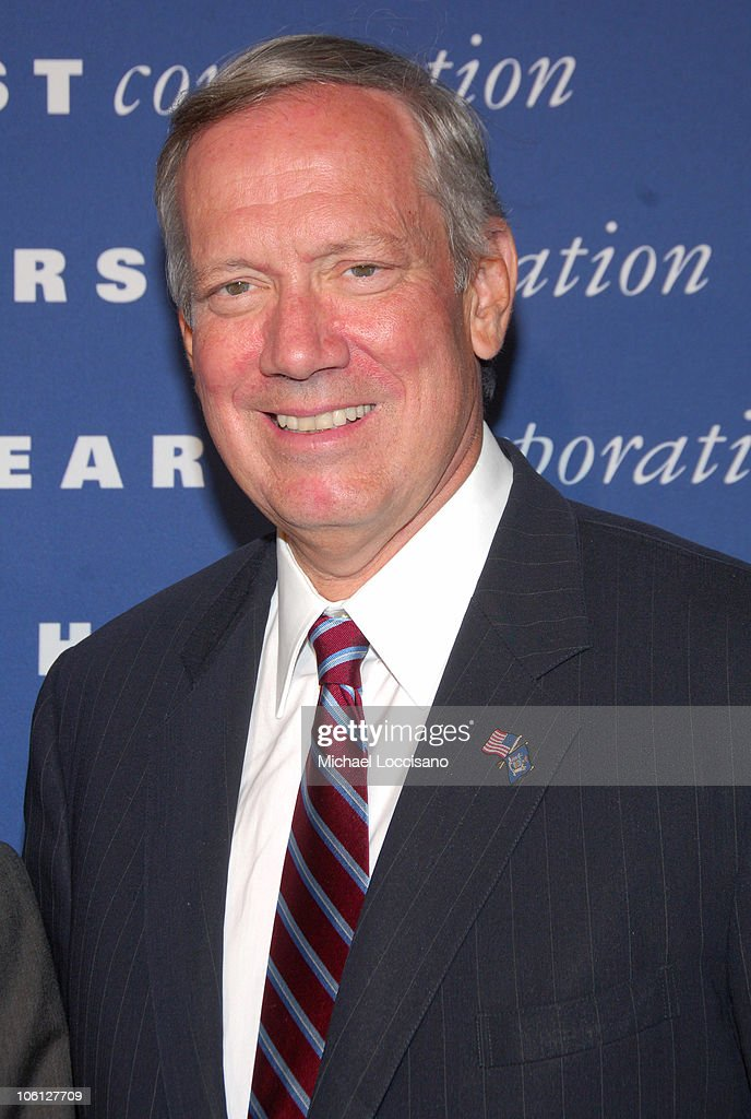 Governor George Pataki during The Inauguration of The Hearst Tower at The Hearst Tower in New York City, New York, United States.