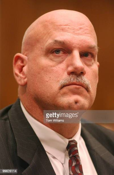 Governor of Minnesota Jesse Ventura waits for the start of a House Judiciary Committee on antitrust exemption for MLB