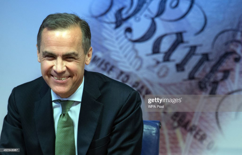 Governor of the Bank of England <a gi-track='captionPersonalityLinkClicked' href=/galleries/search?phrase=Mark+Carney&family=editorial&specificpeople=3028157 ng-click='$event.stopPropagation()'>Mark Carney</a> delivers this year's half yearly Financial Stability Report to journalists at the Bank of England on 28 November 28. 2013 in London, England. The bank announced that the Funding for Lending scheme, designed to boost mortgage and business lending, will no longer apply to households as a surging property market means it is no longer needed.
