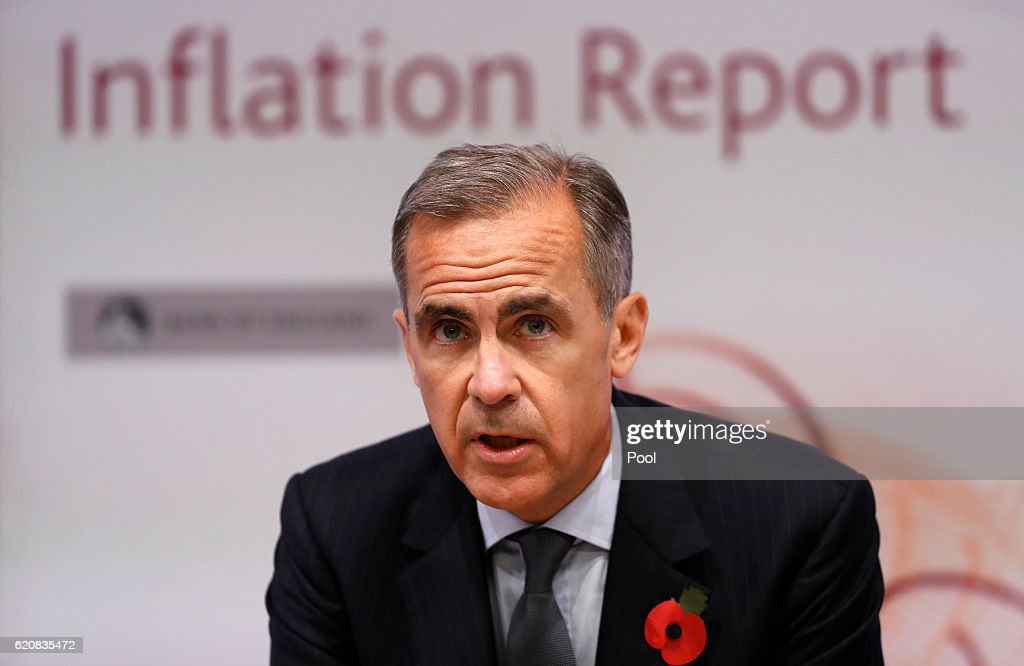 Governor of the Bank of England Mark Carney Presents The Quarterly Inflation Report