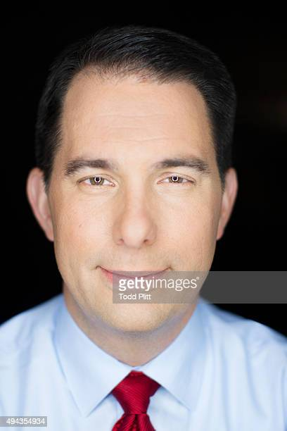 Governor Scott Walker is photographed for USA Today on November 16 2013 in New York City