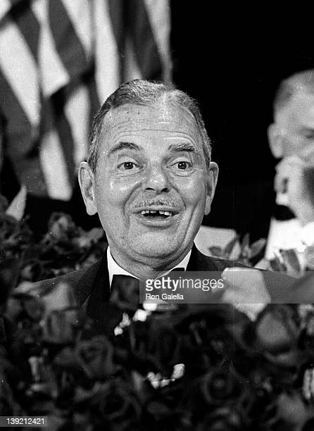 Governor Thomas E Dewey attends New York State Dinner Honoring The Apollo 8 Astronauts on January 10 1969 at the Waldorf Astoria Hotel in New York...