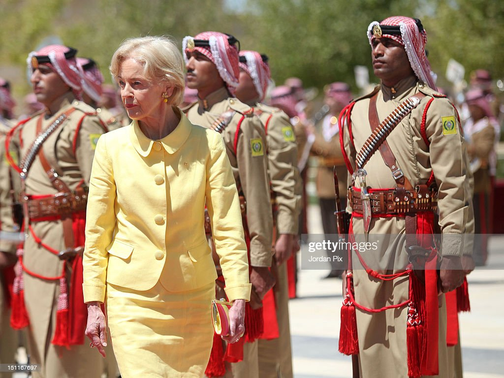Governor-General Of Australia Quentin Bryce Visits Jordan
