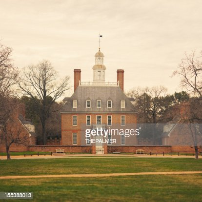 Governor's Mansion Williamsburg