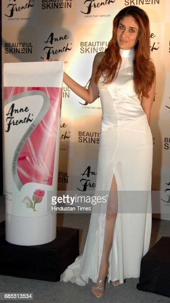 Gown Kareena Kapoor the New Brand Ambassador of Anne French at Mehboob Studio Bandra