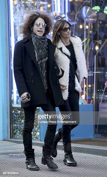 Goya Toledo and Craig Ross are seen on March 16 2015 in Madrid Spain