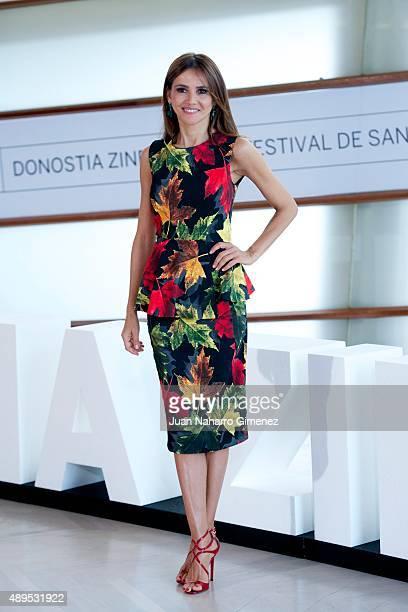 Goya Toledo attends 'El Desconocido' photocall during 63rd San Sebastian Film Festival at Kursaal on September 22 2015 in San Sebastian Spain
