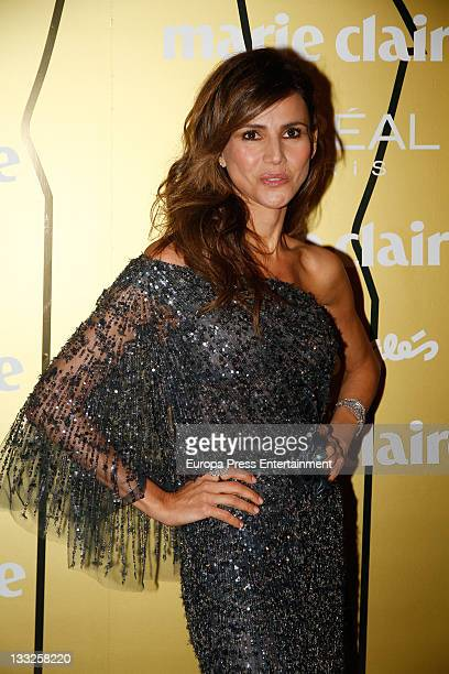 Goya Toledo attends Marie Claire Prix de la Moda awards 2011 at the French Embassy on November 17 2011 in Madrid Spain