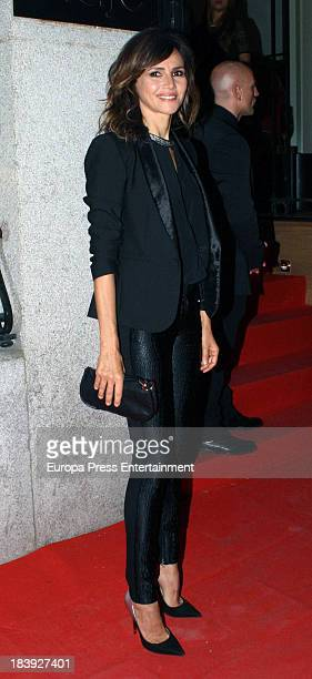 Goya Toledo attends the opening of Maje clothes on October 09 2013 in Madrid Spain