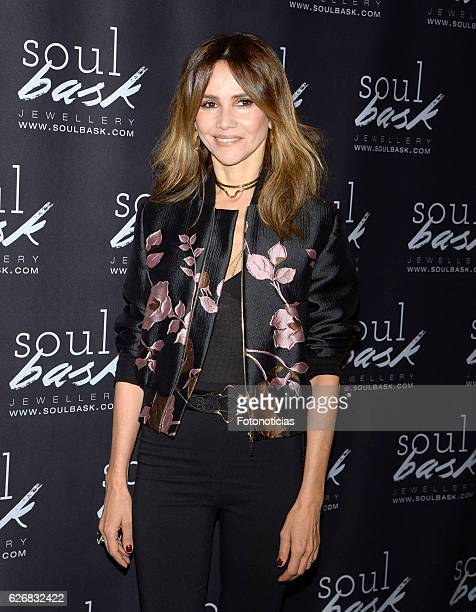 Goya Toledo attends the Soulbask charity rings presentation at Bumpgreen on November 30 2016 in Madrid Spain