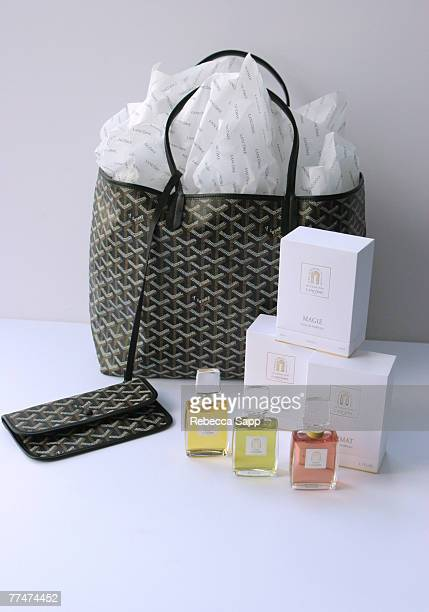 Goyard bag with Magie Climat and Sikkim fragrances