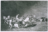 GoyaThe Art of Bullfighting Creation date 1816