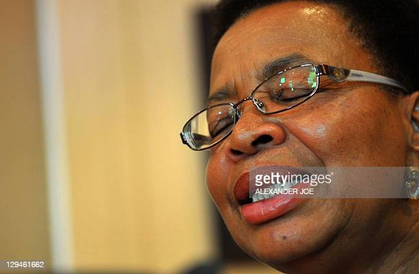 Graca Machel the widow of Mozambique's first President Samora Moises Machel now married to former South African President Nelson Mandela answers...