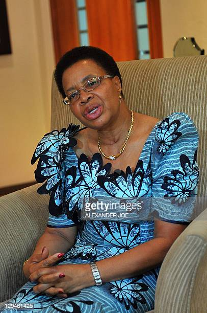Graca Machel the widow of Mozambique's fist President Samora Moises Machel and is now married to former South African President Nelson Mandela...