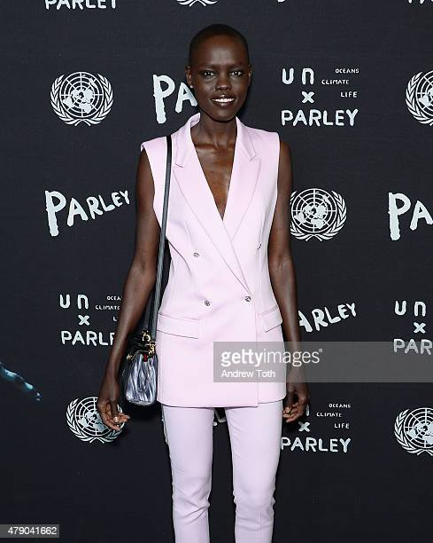 Grace Bol attends President of The General Assembly of The United Nations and Parley for The Oceans Launch Event at United Nations General Assembly...