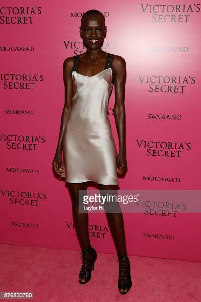Grace Bol attends the 2017 Victoria's Secret Fashion Show After Party on November 20 2017 in Shanghai China