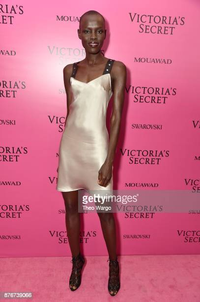 Grace Bol attends the 2017 Victoria's Secret Fashion Show In Shanghai After Party at MercedesBenz Arena on November 20 2017 in Shanghai China
