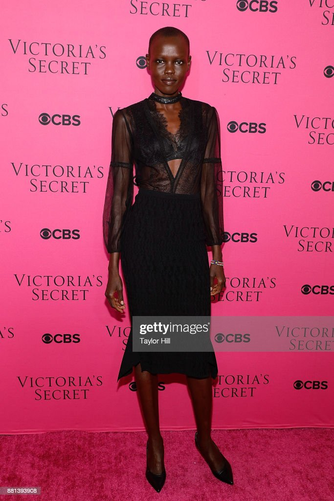Grace Bol attends the Victoria's Secret Viewing Party Pink Carpet celebrating the 2017 Victoria's Secret Fashion Show in Shanghai at Spring Studios on November 28, 2017 in New York City.