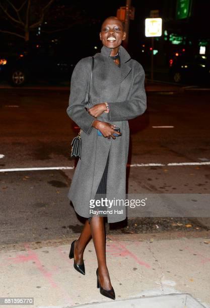 Grace Bol is seen in Soho on November 28 2017 in New York City