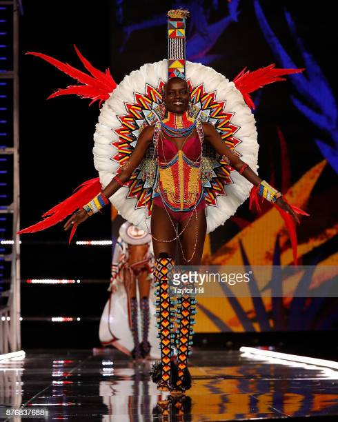 Grace Bol walks the runway during the 2017 Victoria's Secret Fashion Show at MercedesBenz Arena on November 20 2017 in Shanghai China