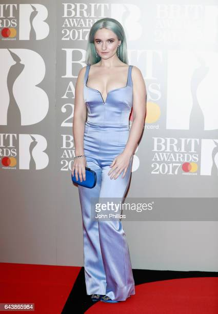 Grace Chatto attends The BRIT Awards 2017 at The O2 Arena on February 22 2017 in London England