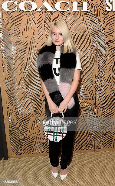 Grace Chatto attends the launch of Coach at Selfridges hosted by Stuart Vevers at Selfridges on September 18 2015 in London England