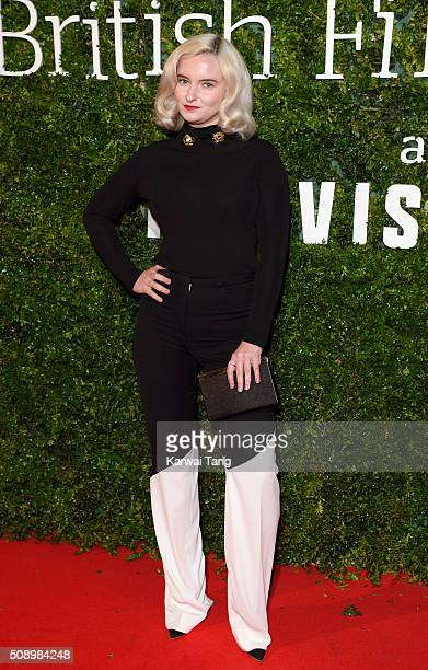 Grace Chatto attends the London Evening Standard British Film Awards at Television Centre on February 7 2016 in London England