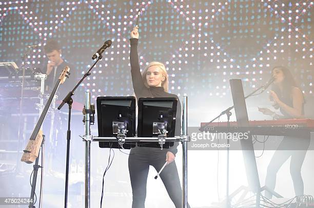 Grace Chatto of Clean Bandit performs at Day 2 of Common People at Southampton Common on May 24 2015 in Southampton England