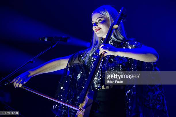 Grace Chatto of Clean Bandit performs at The Roundhouse on October 24 2016 in London England