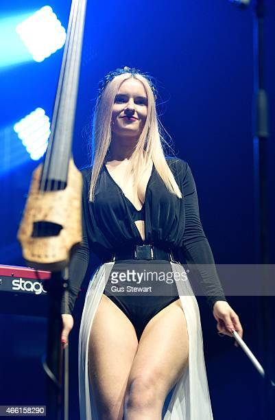 Grace Chatto Of Clean Bandit Stock Photos And Pictures
