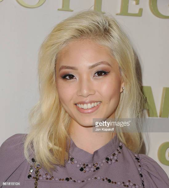 Grace Cheng arrives at the Hammer Museum Gala In The Garden at Hammer Museum on October 14 2017 in Westwood California