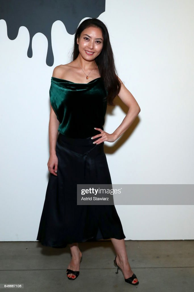 Grace Dai attends the Jia Liu fashion show during New York Fashion Week: The Shows at Gallery 2, Skylight Clarkson Sq on September 13, 2017 in New York City.