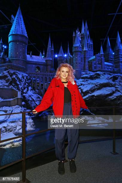 Grace Davies attends the VIP launch of 'Hogwarts In The Snow' at Warner Bros Studio Tour London The Making Of Harry Potter on November 22 2017 in...