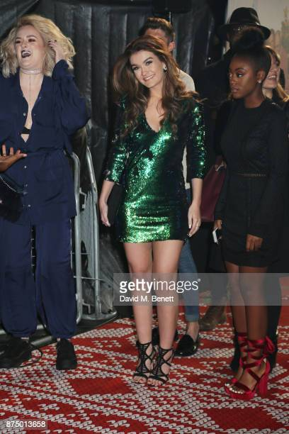 Grace Davies Holly Tandy and RaiElle Williams attend the UK Premiere of 'Daddy's Home 2' at the Vue West End on November 16 2017 in London England