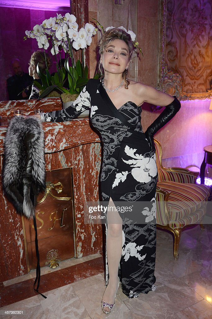 Grace de Capitani attends the ÔThe Best 2013Ô Ceremony Awards 37th Edition at the Salons Hoche on December 16 2013 in Paris France