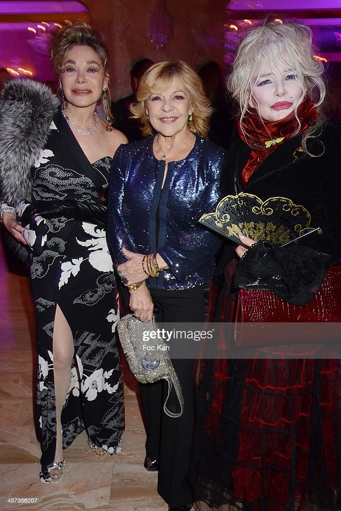 Grace de Capitani, Nicoletta and Armande Altai attend the 'The Best 2013' Ceremony Awards 37th Edition at the Salons Hoche on December 16, 2013 in Paris, France.