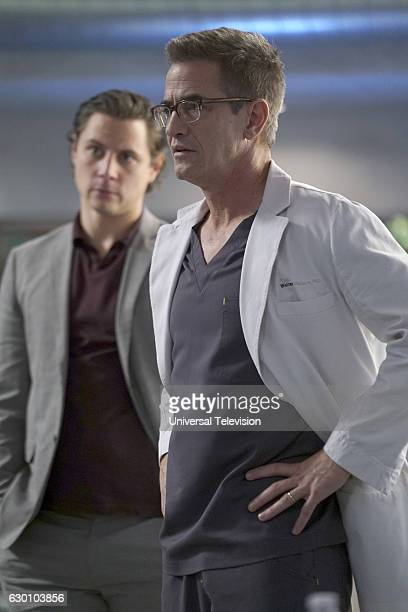 GENIUS 'Grace' Episode 109 Pictured Augustus Prew as James Bell Dermot Mulroney as Dr Walter Wallace